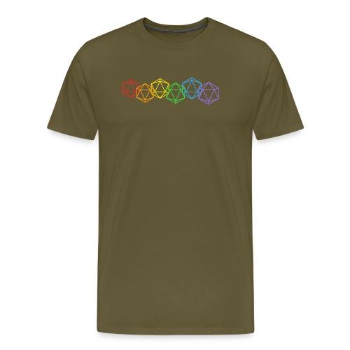 Roll with pride - Mannen Premium T-shirt
