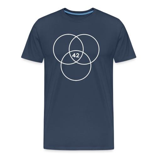 Nerd 42 - Männer Premium T-Shirt