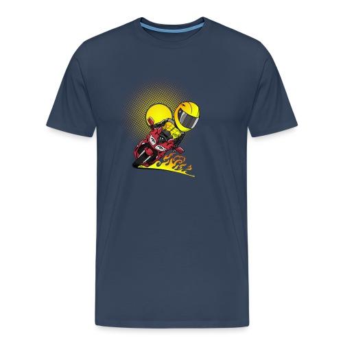 0791 fjr ROOD sun - Mannen Premium T-shirt