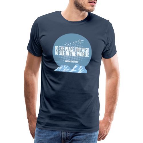 MLK2 png - Men's Premium T-Shirt