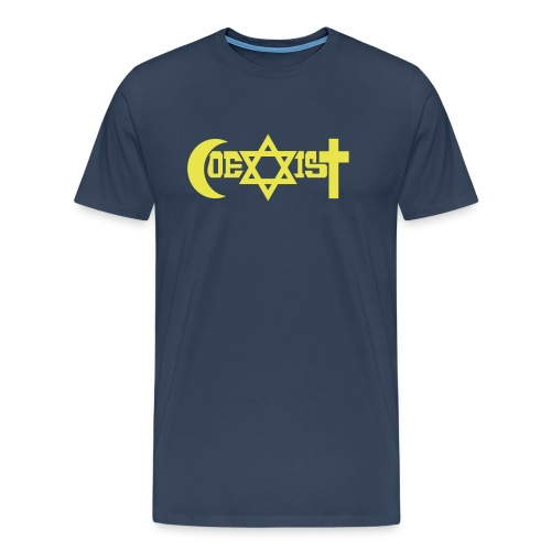 coexist - Männer Premium T-Shirt