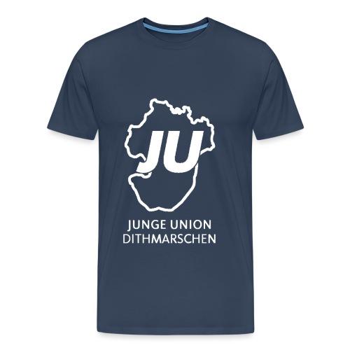 JU Umriss mit schriftzug gif - Männer Premium T-Shirt