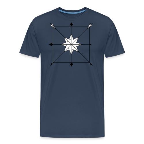 Dussack Hieblinien - Männer Premium T-Shirt