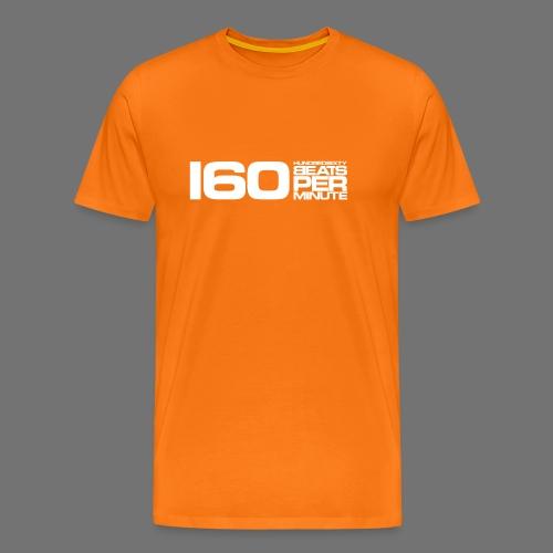 160 BPM (white long) - Men's Premium T-Shirt