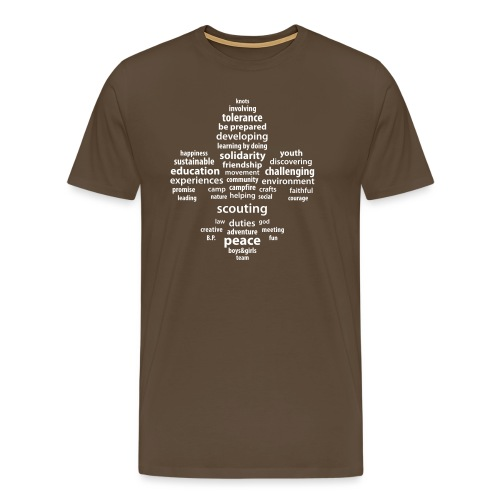 scouting is - Men's Premium T-Shirt
