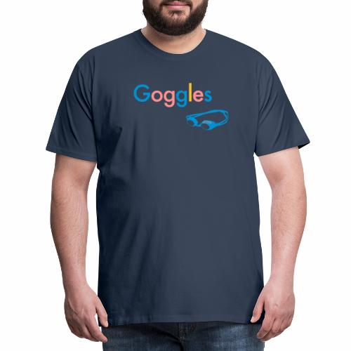 Goggles - Koszulka męska Premium