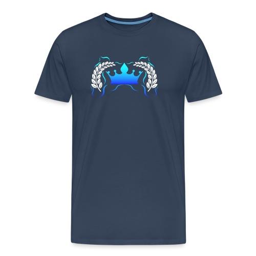 Royal Gamer Blue by JuiceMan Benji - Men's Premium T-Shirt