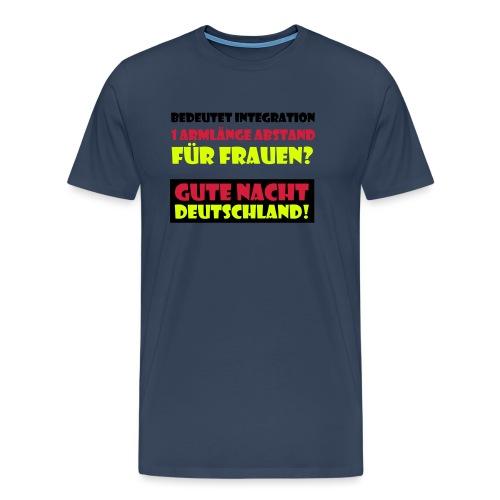Armlänge Abstand - Männer Premium T-Shirt