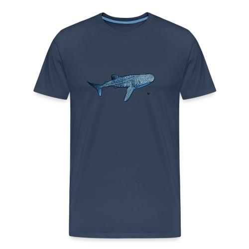 Whale shark - Premium T-skjorte for menn