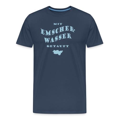 Emscherwasser - Männer Premium T-Shirt