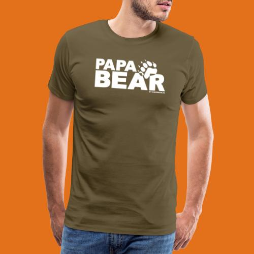 papa bear new - Men's Premium T-Shirt