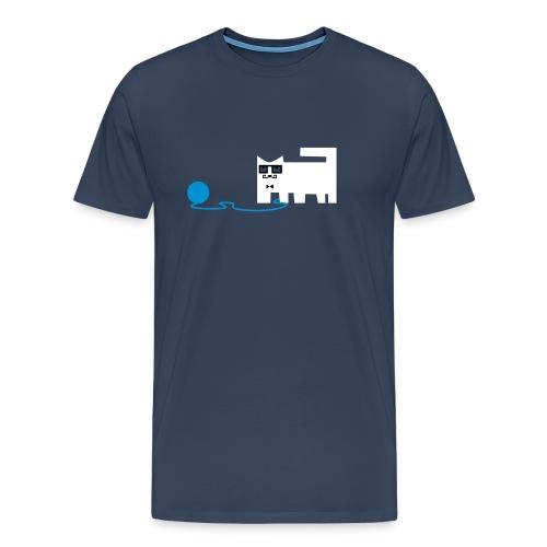 Schnurr Cat Female - Männer Premium T-Shirt
