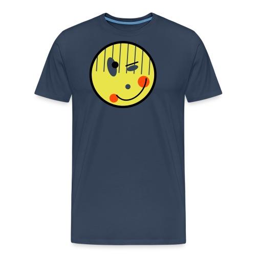 Smile ver rückt - Männer Premium T-Shirt