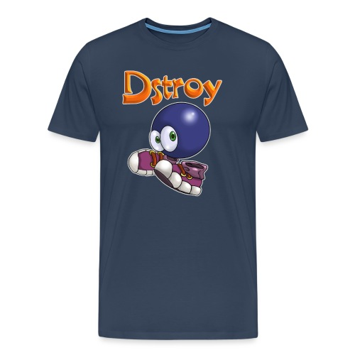 Dstroy - Blue Boodies - Men's Premium T-Shirt