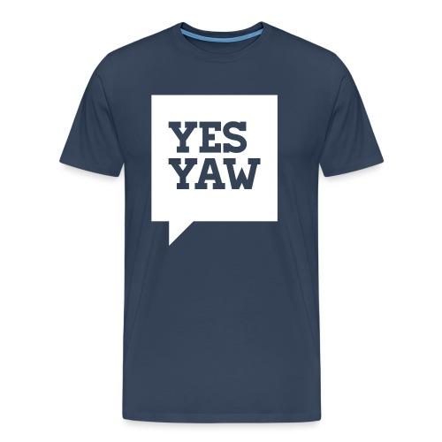 nms-yes_yaw - Männer Premium T-Shirt