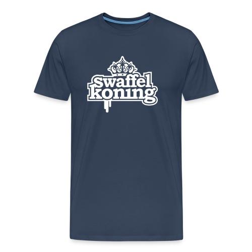 SwaffelKoning - Mannen Premium T-shirt
