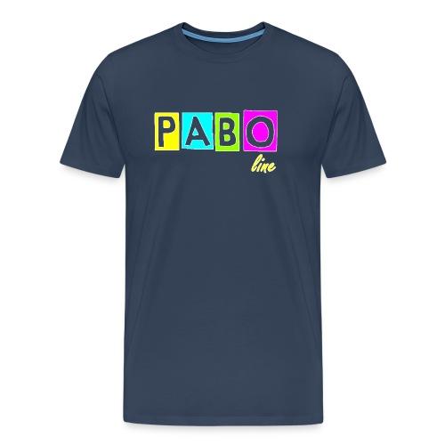 pabo line 4 color - Männer Premium T-Shirt