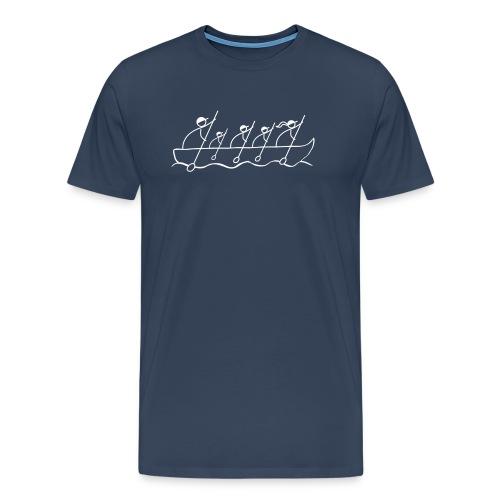 lodka_4m1w_bez-logo - Männer Premium T-Shirt