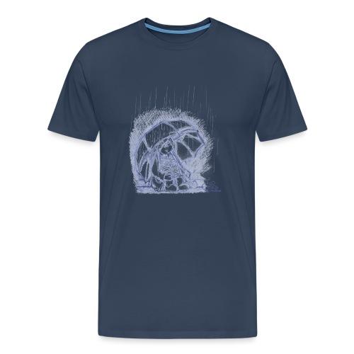 Weiß Regenlaune Kinder T-Shirts - Männer Premium T-Shirt