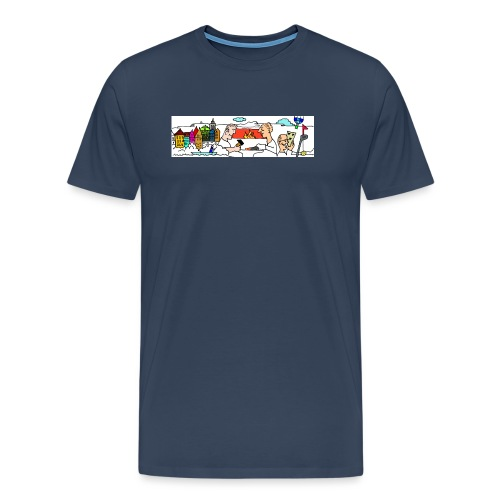 LogoSchriftzug - Männer Premium T-Shirt