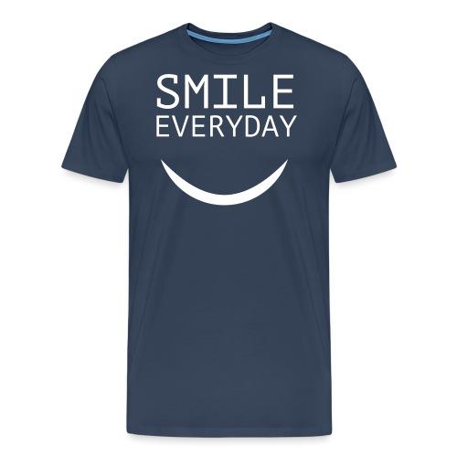 smile everyday - Männer Premium T-Shirt