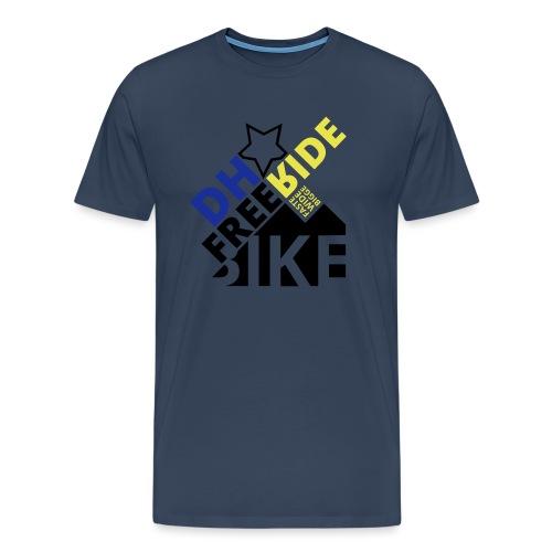 DH Freeride Bike - Männer Premium T-Shirt