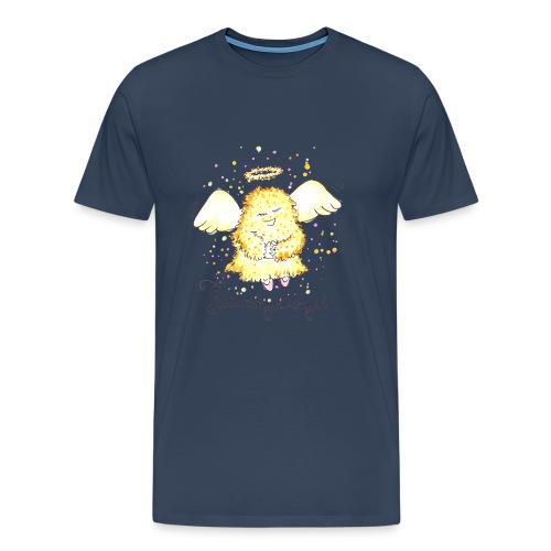 Flauschgoldengel - Männer Premium T-Shirt
