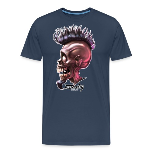 Skull Army-03xb - T-shirt Premium Homme