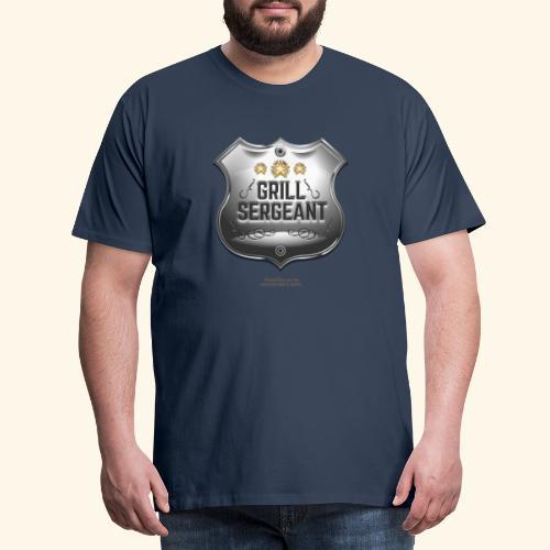 Grill Sergeant Abzeichen für Griller - Männer Premium T-Shirt