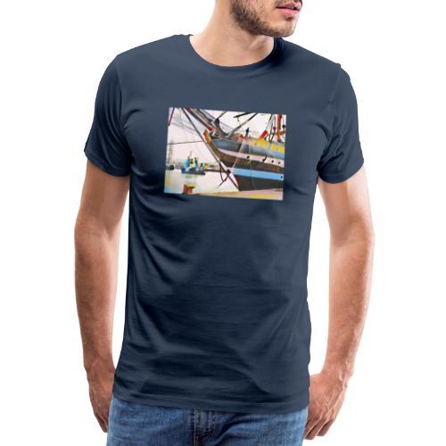 Schiff Nr. 2 - Männer Premium T-Shirt