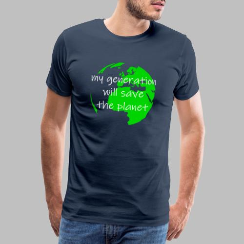 My Generation Will Save The Planet - Men's Premium T-Shirt