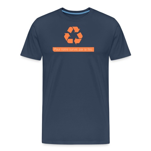cleanersshirt png - T-shirt Premium Homme
