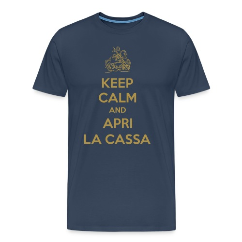Keep Calm Cassa - Männer Premium T-Shirt