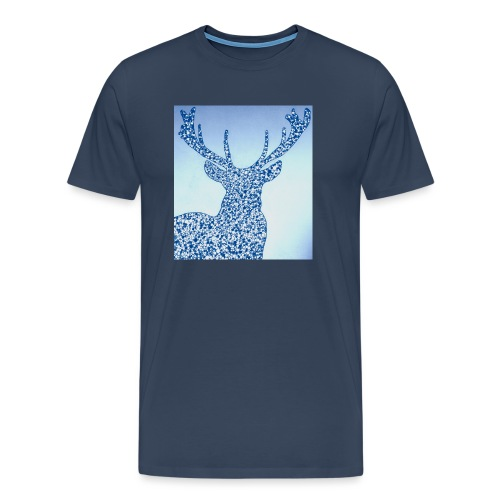 Cerf Chevreuil Chasse - T-shirt Premium Homme