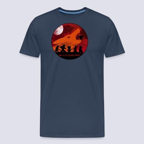 Silhouetten Geschöpfe der Nacht - Männer Premium T-Shirt