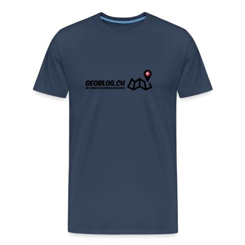 Logo+Schriftzug - Männer Premium T-Shirt