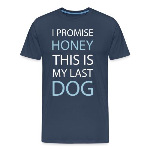 I promise... Geschenk - Männer Premium T-Shirt