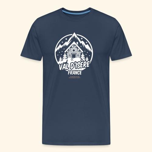 Val d' Isère Station de Ski France - Männer Premium T-Shirt