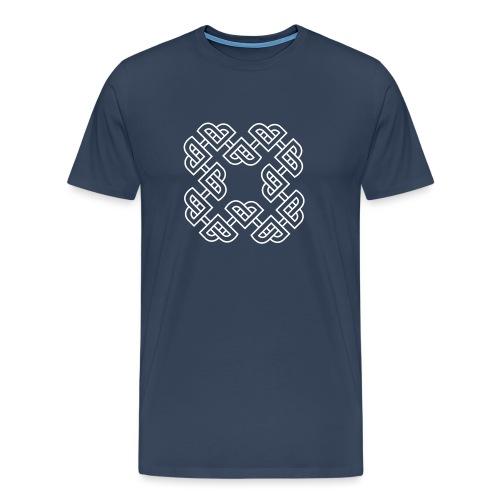 Norse - white - Premium T-skjorte for menn
