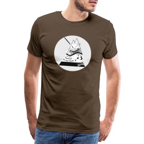 Logo BN - Maglietta Premium da uomo