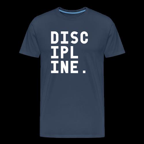 Discipline - Mannen Premium T-shirt
