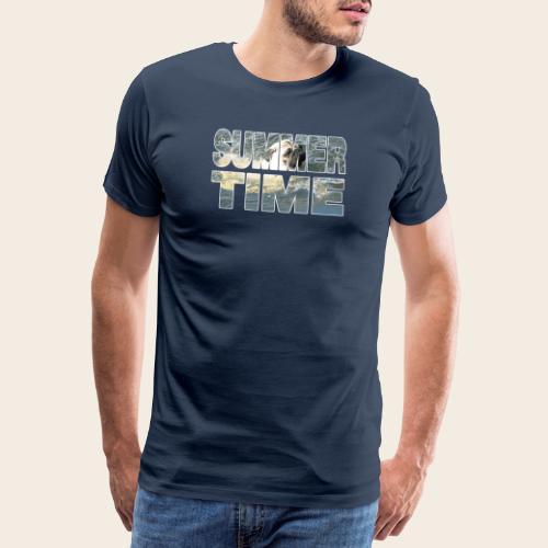 Mops Sommer - Männer Premium T-Shirt