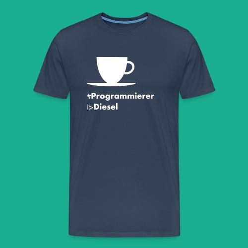 Kaffediesel - Männer Premium T-Shirt