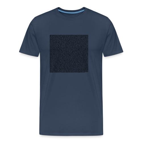 all sayings black 2020 - Männer Premium T-Shirt
