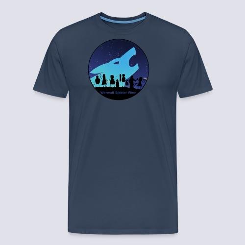 Silhouetten Dorf - Männer Premium T-Shirt