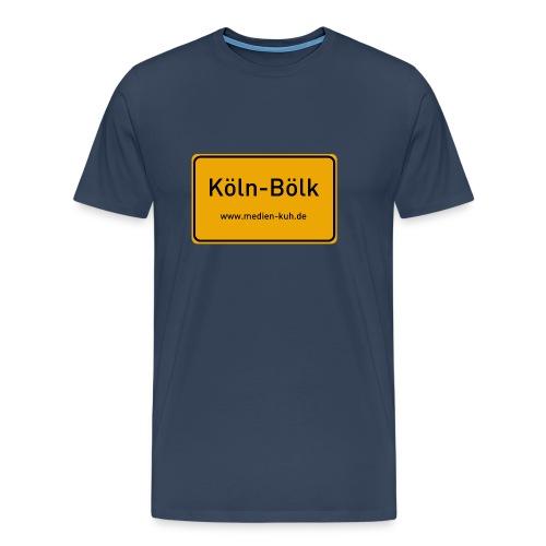 Willkommen in Köln Bölk - Männer Premium T-Shirt