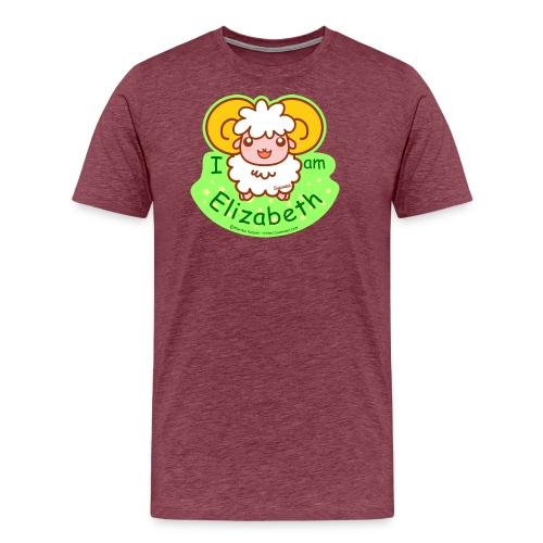 I am Elizabeth - Men's Premium T-Shirt
