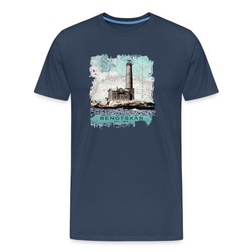 Bengtskär Majakka - Tekstiilit ja lahjatuotteet - Miesten premium t-paita