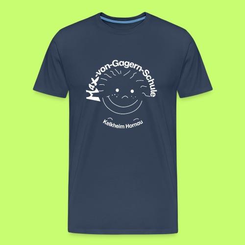 Mäxchen Logo weiß - Männer Premium T-Shirt