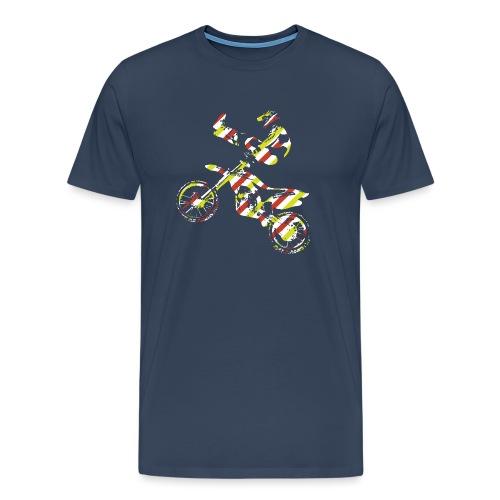 FMX Freestyle Motocross Shaolin - Männer Premium T-Shirt